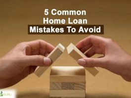 5 common home loan mistakes