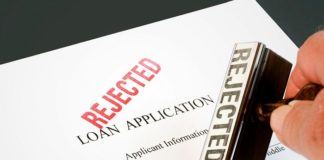 home loan application rejected