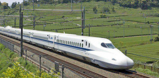 Bullet trains come up in Noida