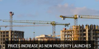 Prices increase as new property launches