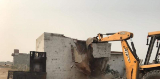 Encroachers to pay the cost of the Demolition Gurgaon